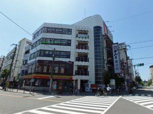 桃谷駅前のお店