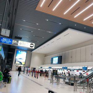 早朝の伊丹空港